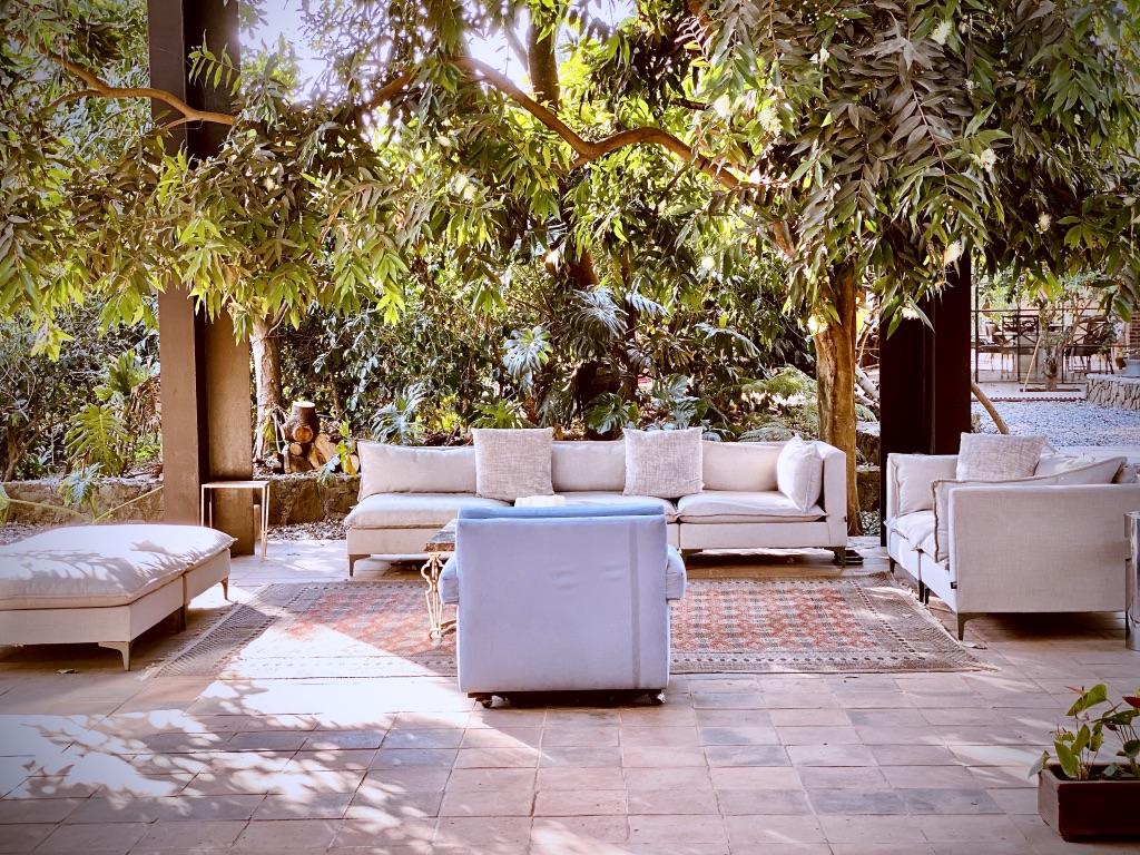 Beautiful Outdoor Nature Lounge